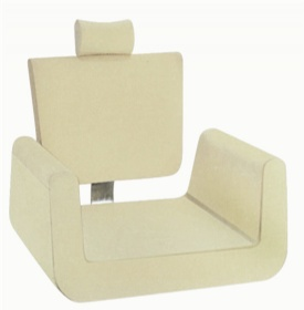Wholesale salon furniture barber shop styling chair finalize designed chair cotton foam frame F16